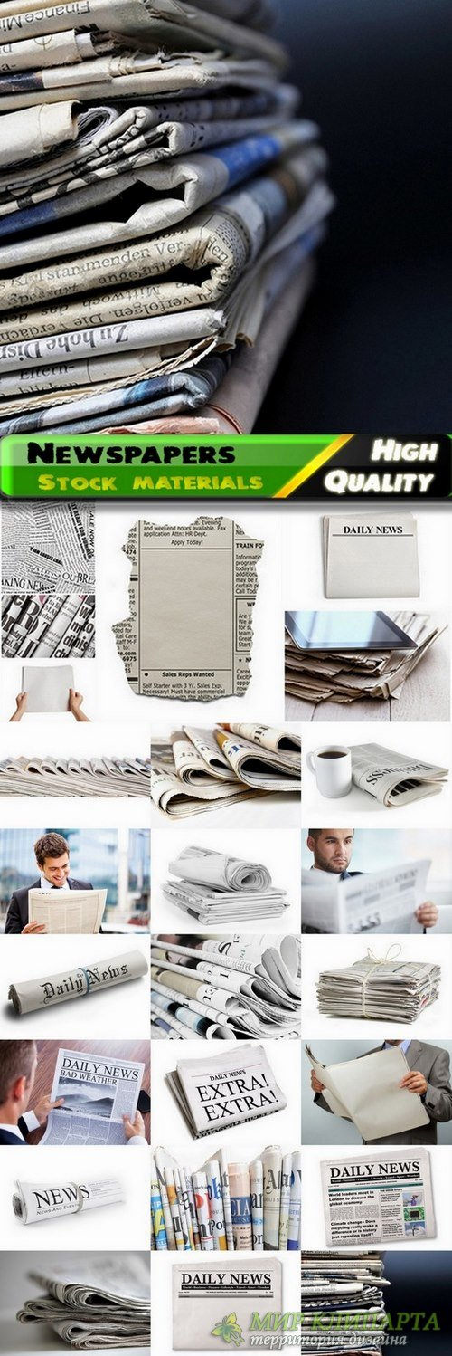 Newspapers Stock images - 25 HQ Jpg