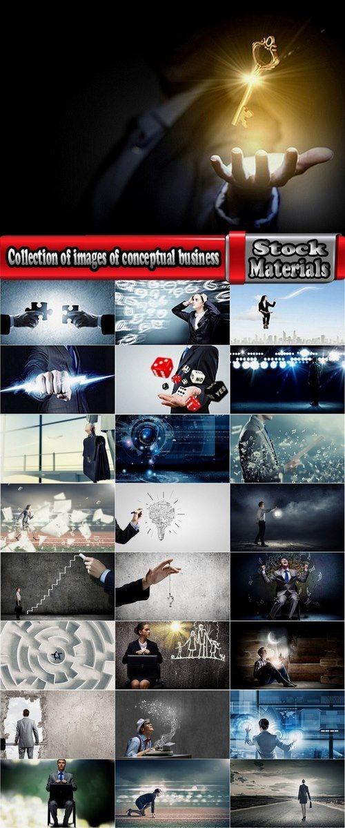 Collection of images of conceptual business 25 UHQ Jpeg