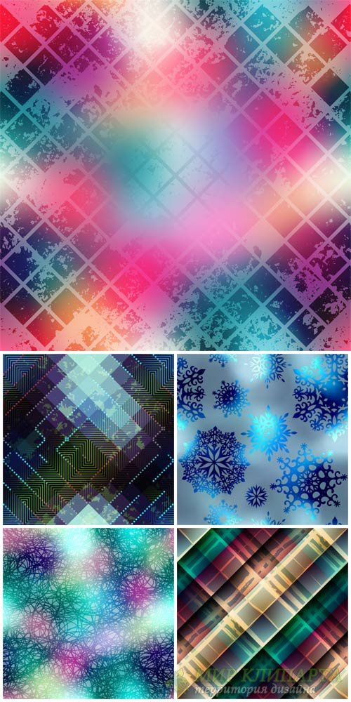 Vector backgrounds with abstraction # 32