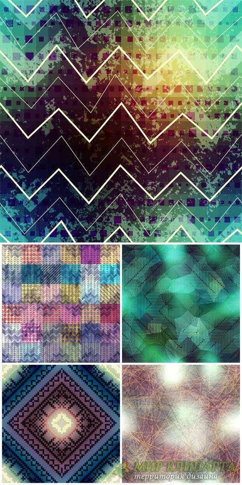 Vector backgrounds with abstraction # 34