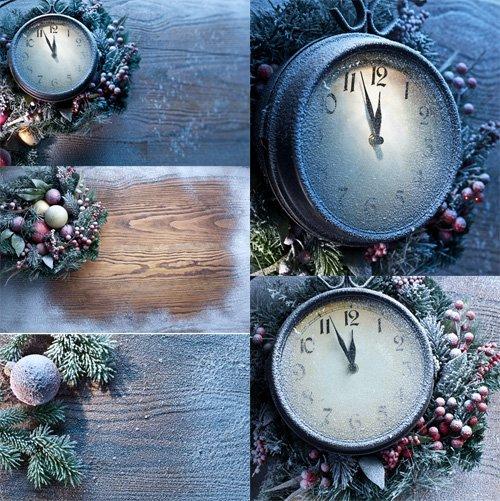 Стоковые фотографии - Замороженные часы