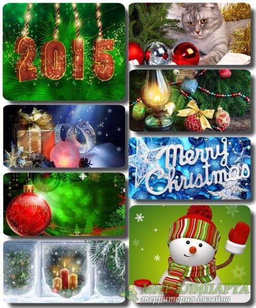 Рождественские и Новогодние обои для рабочего стола