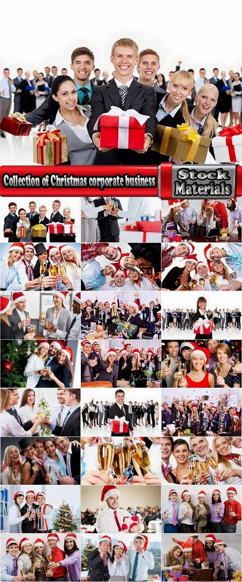 Collection of Christmas corporate business 25 UHQ Jpeg
