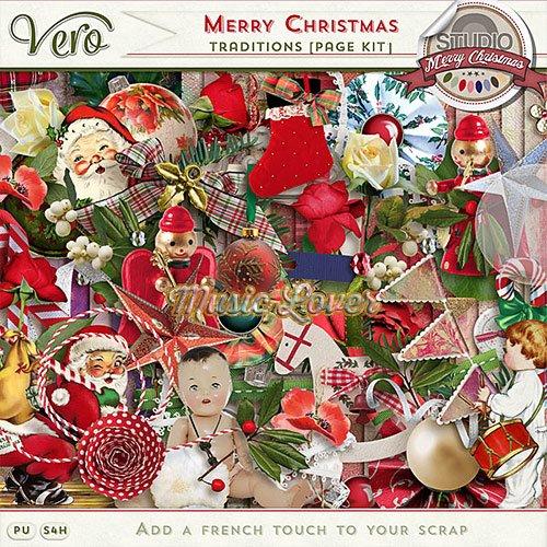 Скрап-набор - Merry Christmas Traditions