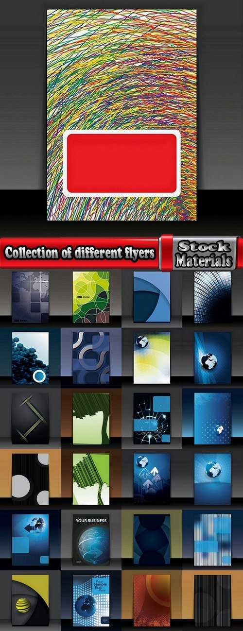 Collection of different flyers #2-25 Eps