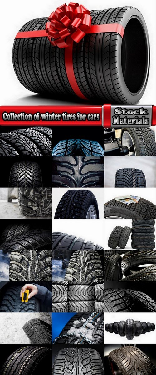 Collection of winter tires for cars 25 UHQ Jpeg