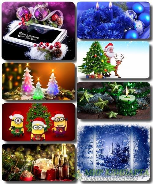 Рождественские и Новогодние обои для рабочего стола часть 2