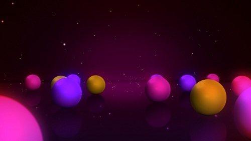 Футаж - Игра шаров