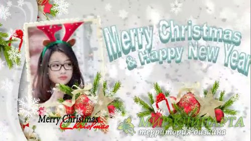 Новогодний проект для ProShow Producer - Веселого Рождества и счастливого Н ...