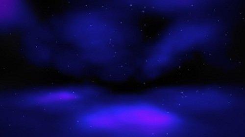 Видео заставка - Сияние звезд