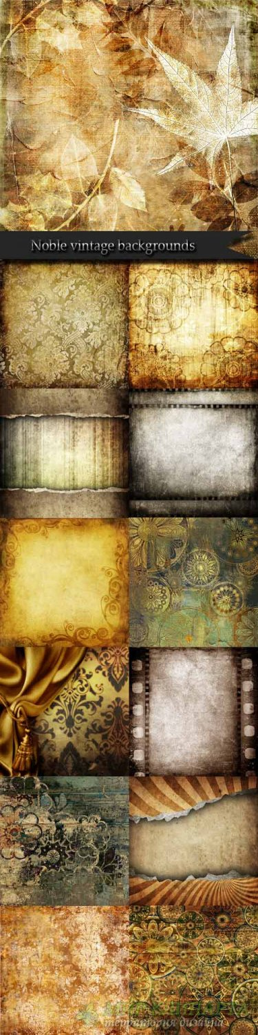 Noble vintage backgrounds