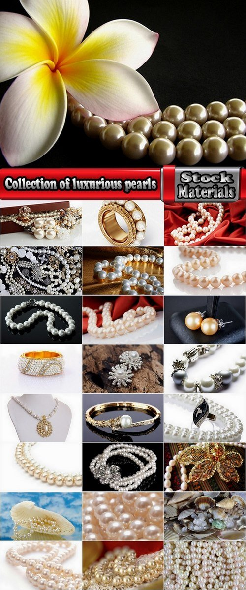 Collection of luxurious pearls 25 UHQ Jpeg