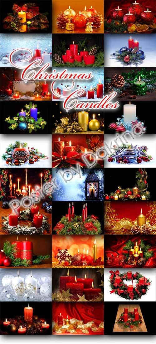 Новогодние Свечи / Christmas Candles