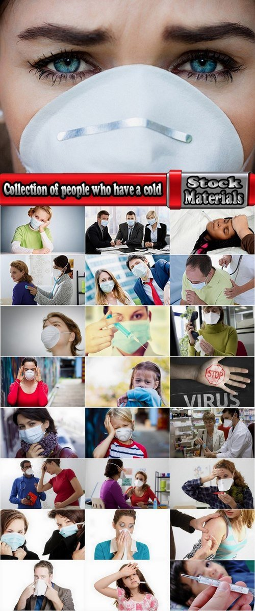 Collection of people who have a cold 25 UHQ Jpeg