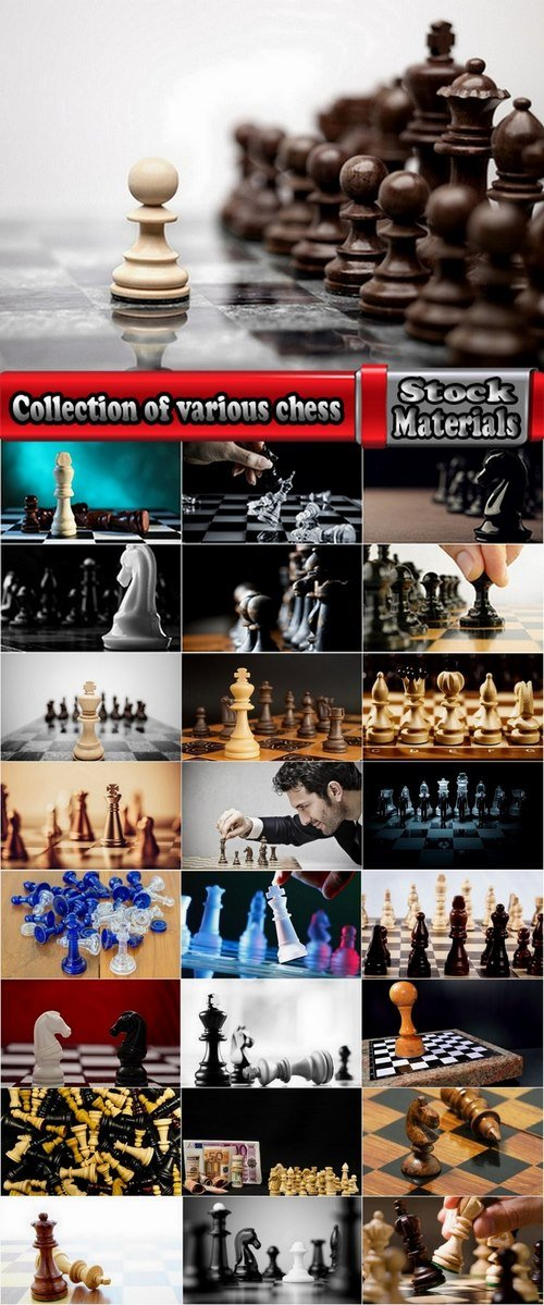 Collection of various chess 25 UHQ Jpeg