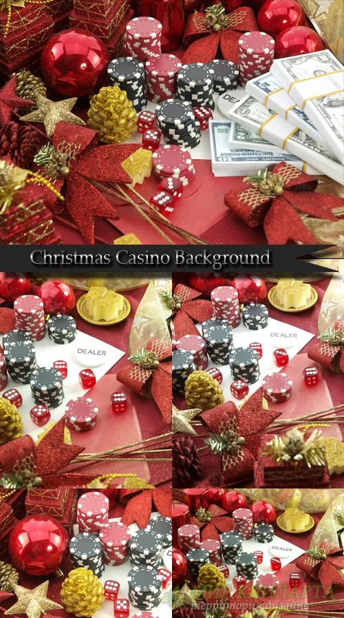 Christmas Casino Background
