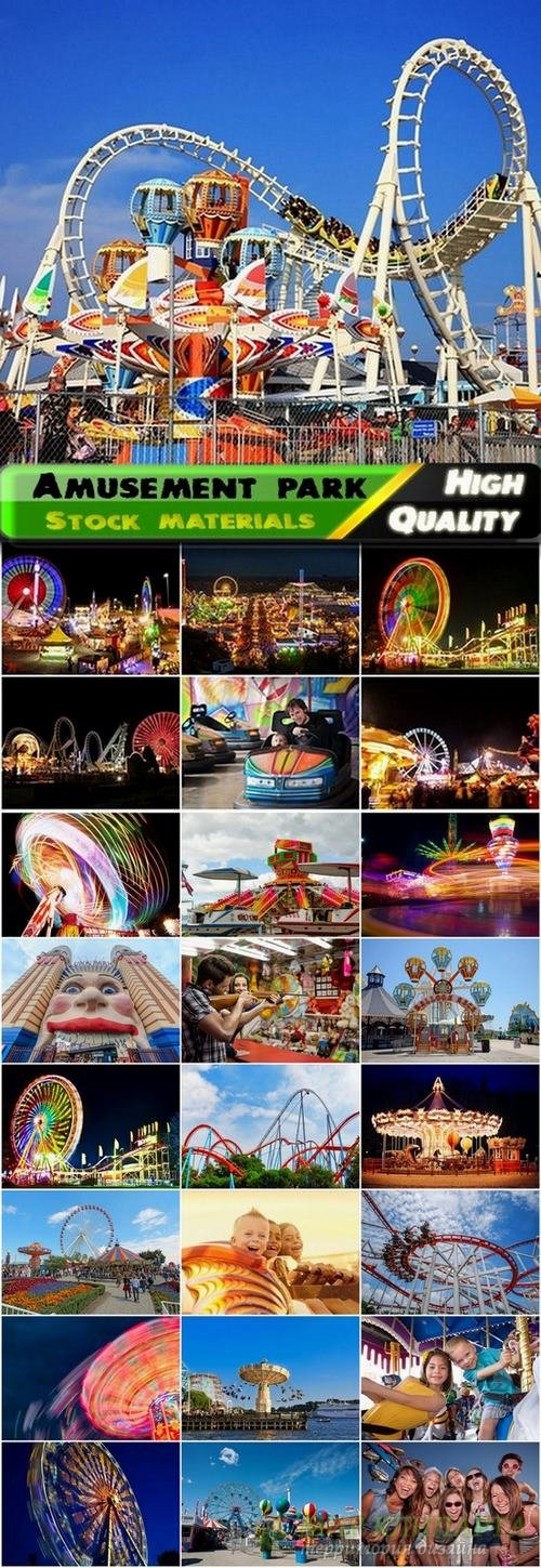 Amusement park and entertainment Stock images - 25 HQ Jpg