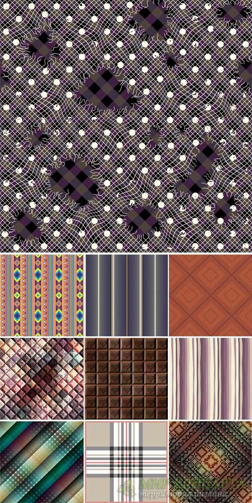 Vector texture with different patterns, backgrounds abstraction