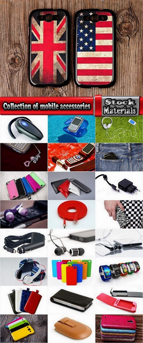 Collection of mobile accessories 25 UHQ Jpeg