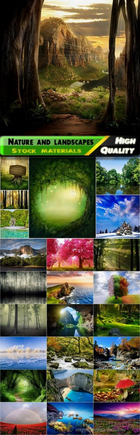 Beautiful nature and landscapes Stock Images #5 - 25 HQ Jpg