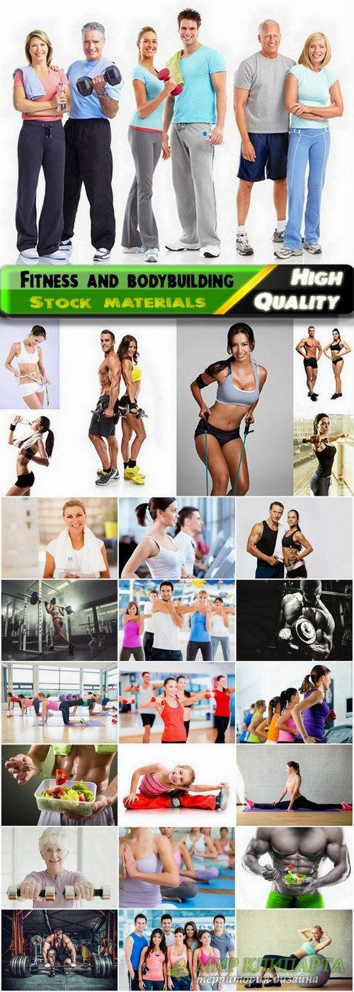 Fitness and bodybuilding Stock images 2 - 25 HQ Jpg