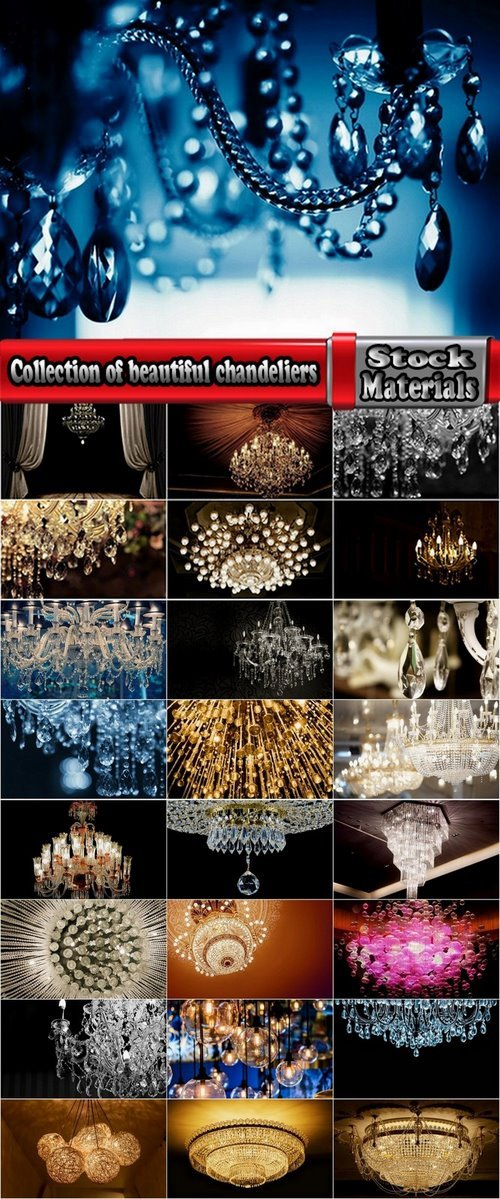 Collection of beautiful chandeliers 25 UHQ Jpeg