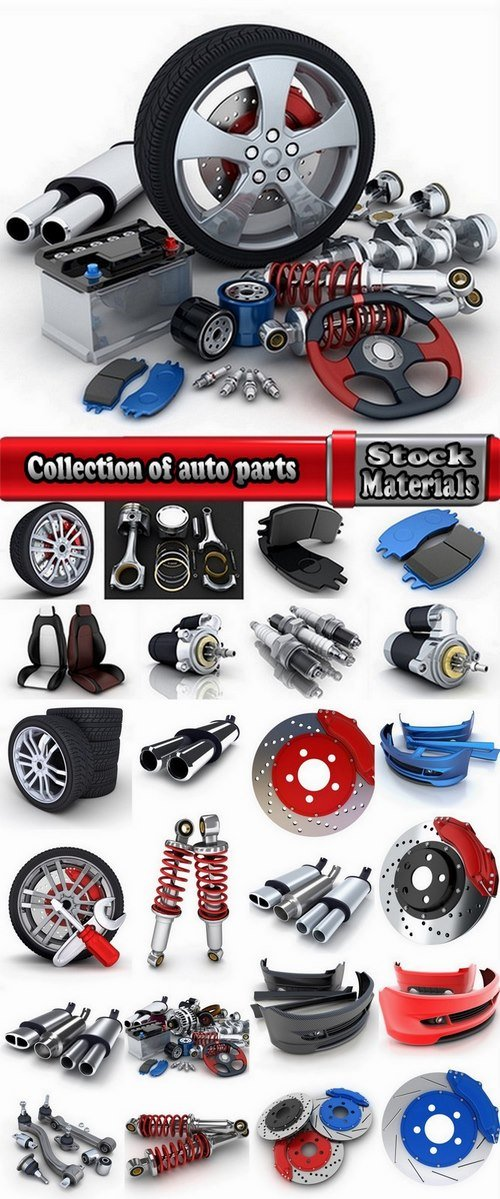 Collection of auto parts 25 UHQ Jpeg