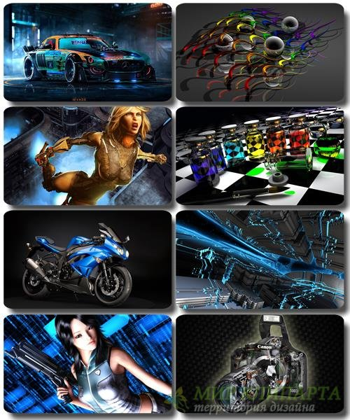 HD Обои и картинки - 3D Компьютерная графика (выпуск 29)