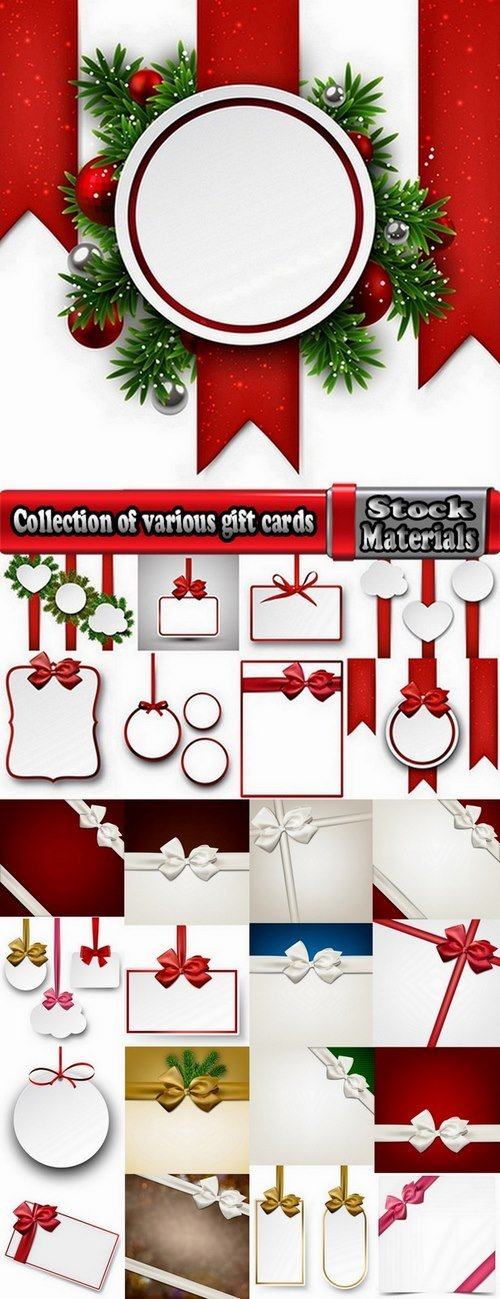 Collection of various gift cards #6-25 Eps