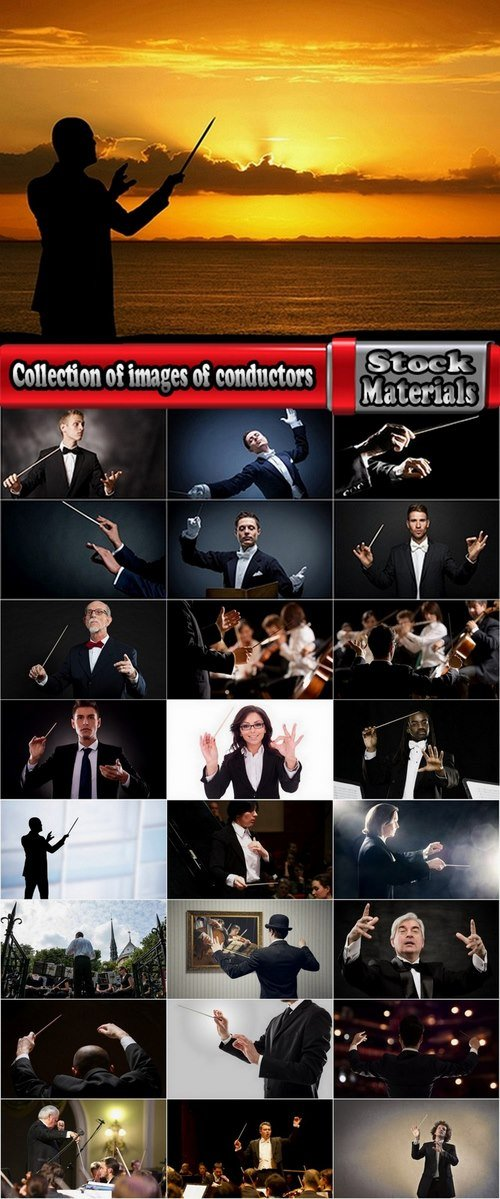 Collection of images of conductors 25 UHQ Jpeg