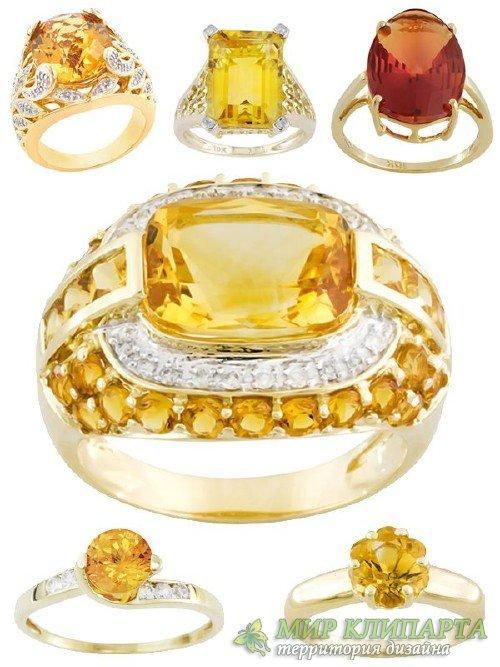 Ювелирные украшения: Кольца и перстни украшенные янтарем (подборка изображе ...
