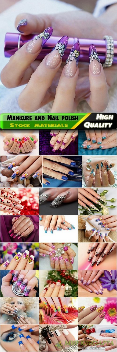 Manicure and Nail polish Stock Images 2 - 25 HQ Jpg