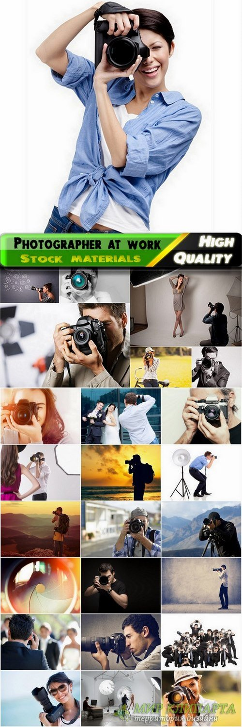 Photographer at work Stock images - 25 HQ Jpg