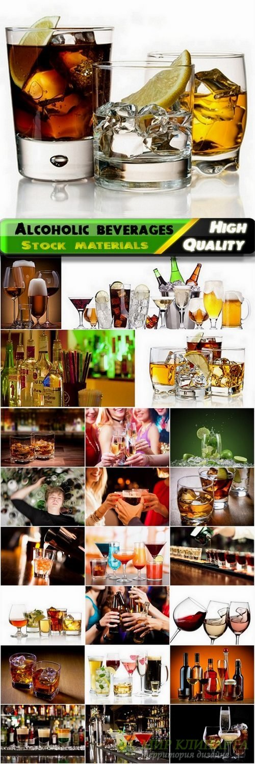 Alcoholic beverages and bar Stock images - 25 HQ Jpg