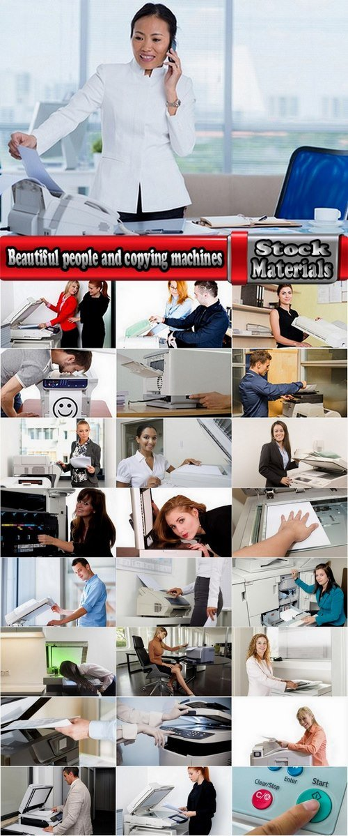 Beautiful people and copying machines 25 HQ Jpeg