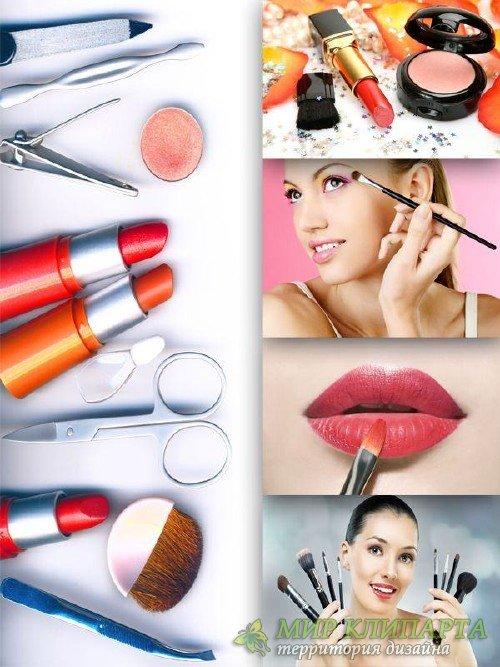 Салон красоты - косметика, парфюмерия, макияж (подборка изображений)