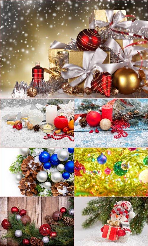 Стоковые фотографии - Новогодние украшения. Часть 7