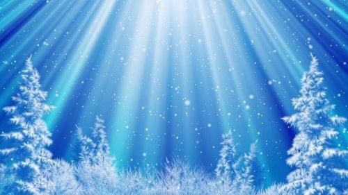 Фоновый Зимний Футаж 2