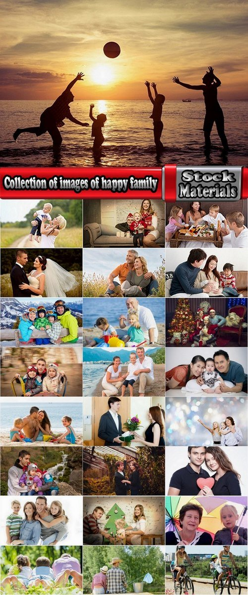 Collection of images of happy family 25 HQ Jpeg