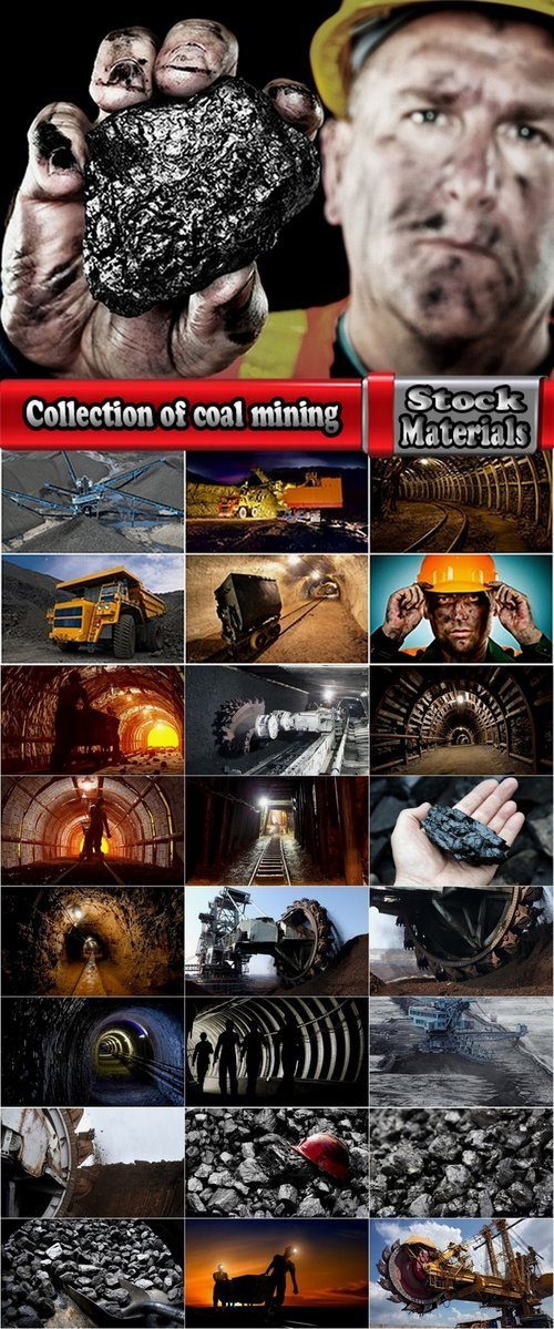 Collection of coal mining 25 HQ Jpeg