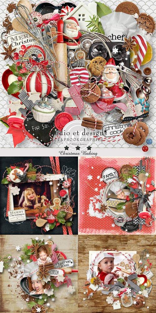 Скрап-набор Christmas baking