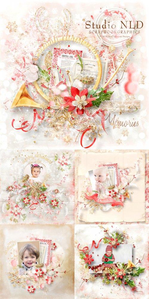 Скрап-набор A Christmas to remember