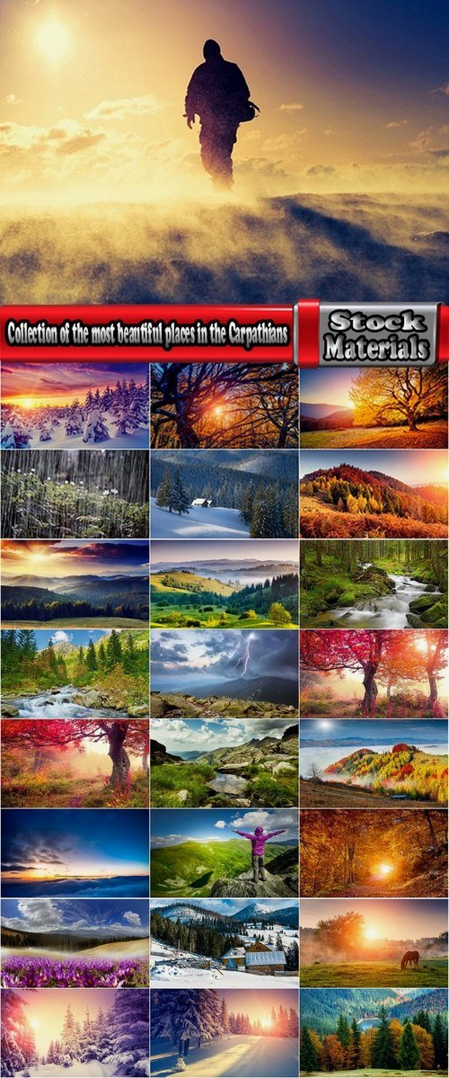 Collection of the most beautiful places in the Carpathians 25 HQ Jpeg