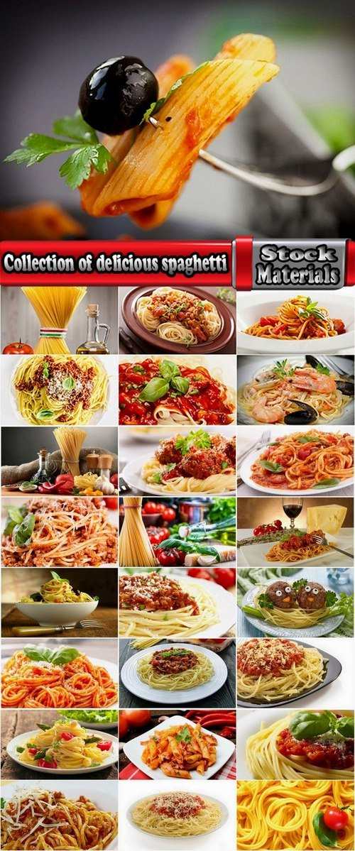 Collection of delicious spaghetti 25 HQ Jpeg