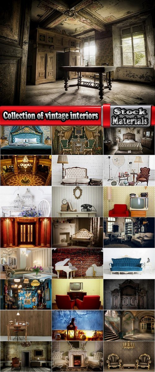 Collection of vintage interiors 25 HQ Jpeg
