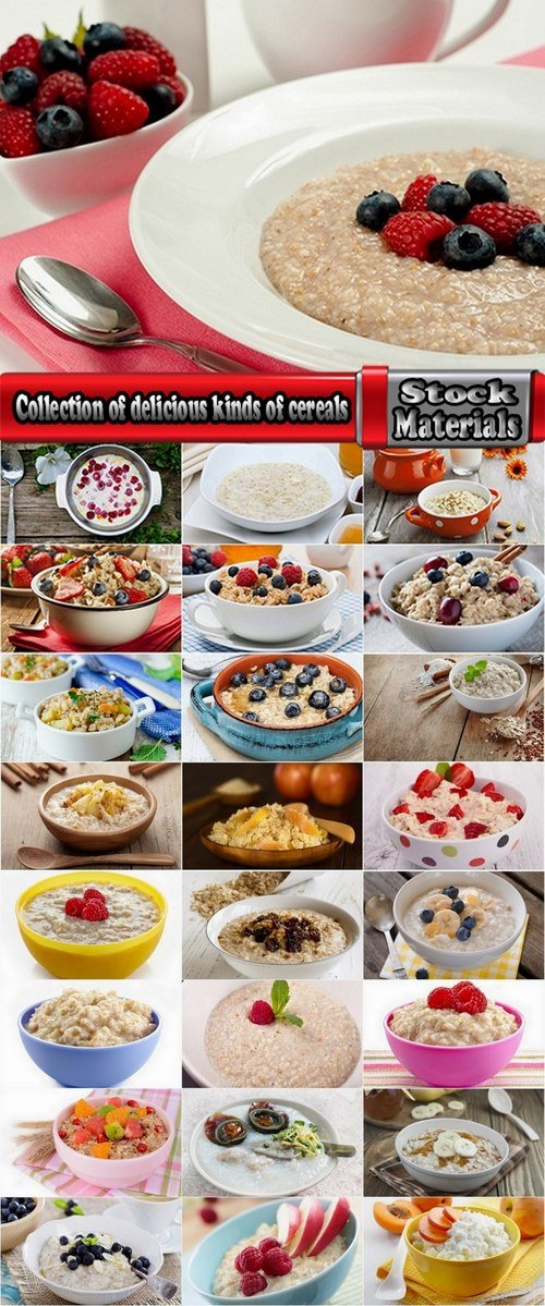 Collection of delicious kinds of cereals 25 HQ Jpeg