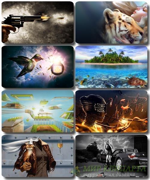 Сборник креативных обоев - Art картинки (часть 33)