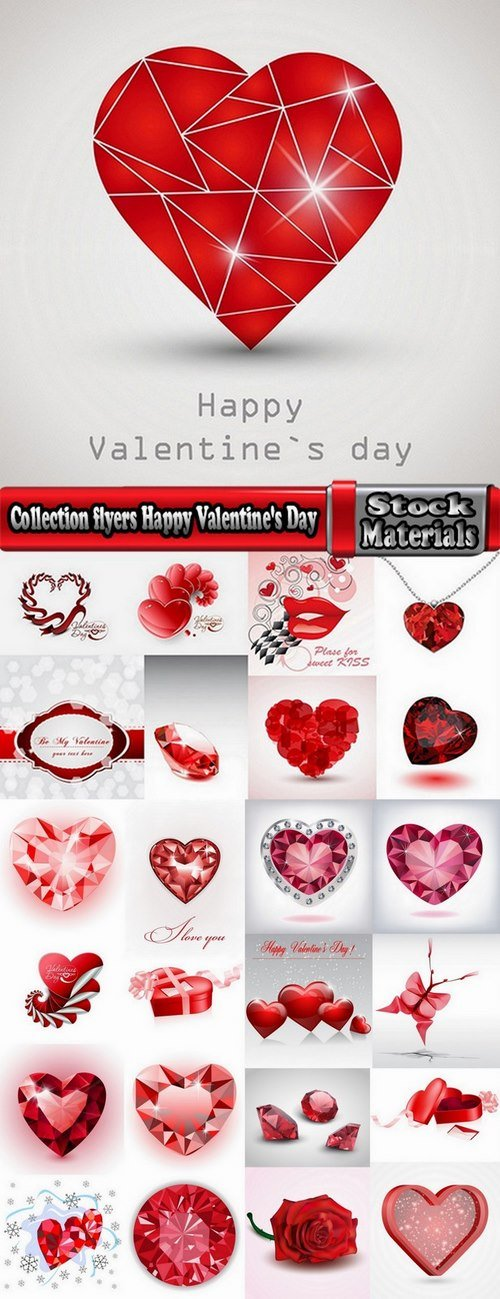 Collection flyers Happy Valentine's Day #2-25 Eps