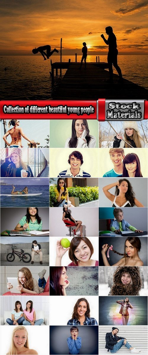 Collection of different beautiful young people 25 HQ Jpeg
