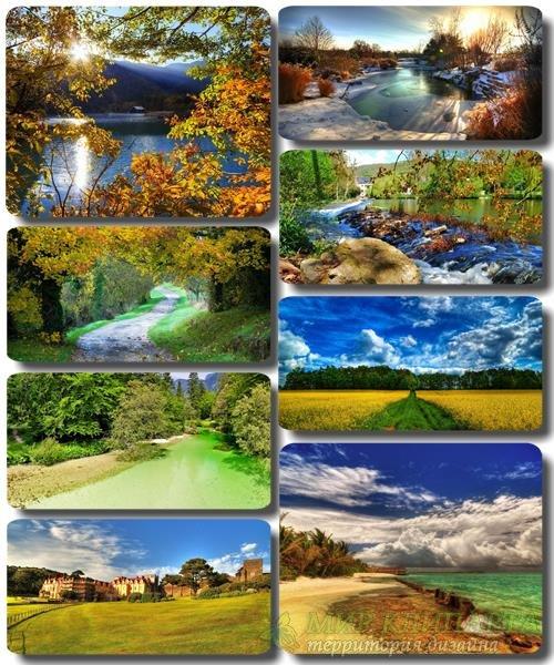 Красивая природа - Сборник обоев с фото (альбом 37)